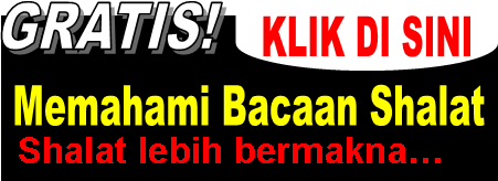 Ebook Gratis Tentang Bacaan Shalat